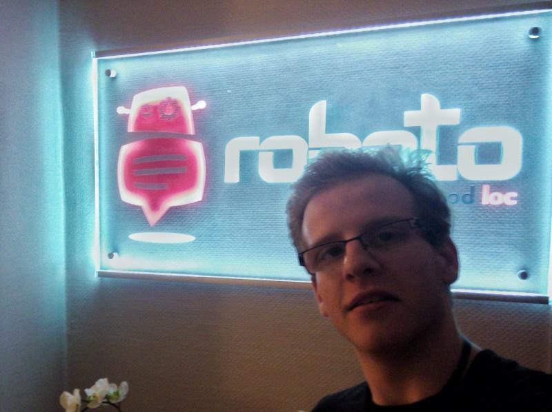Selfiečko s robotem