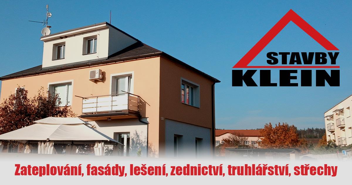 Stavby Klein