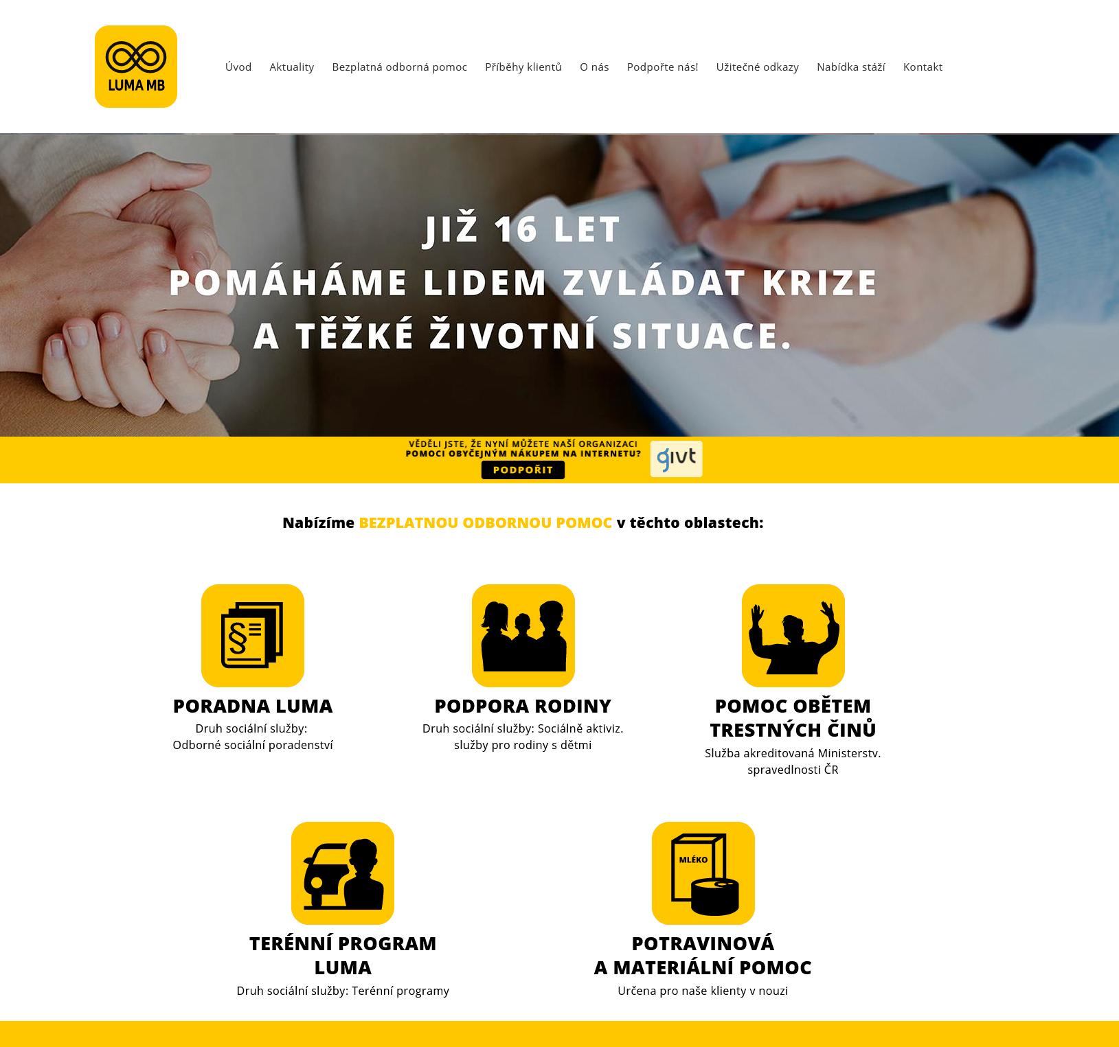 Web Luma Mladá Boleslav